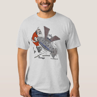 US Special Ops Steampunked Santa T-Shirt