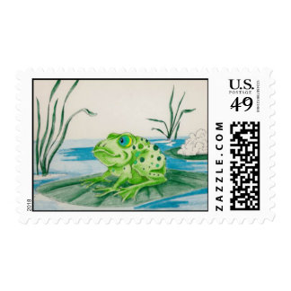 US Stamp Crickety Frog