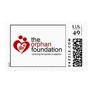 US Stamps that Promote The Orphan Foundation