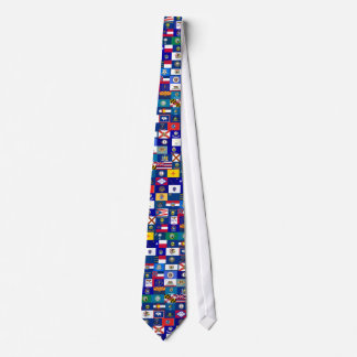 US State Flags Necktie