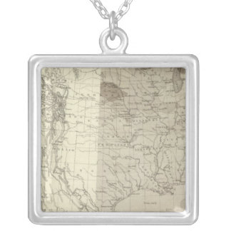 US Storm Centres Silver Plated Necklace