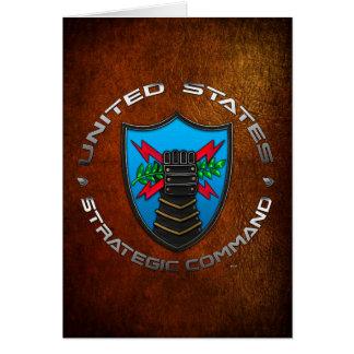 US Strategic Command Card