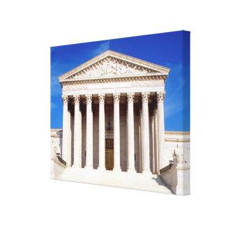 US Supreme Court building, Washington DC, USA Canvas Print