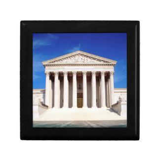 US Supreme Court building, Washington DC, USA Jewelry Box
