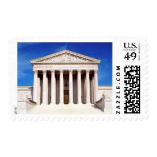 US Supreme Court building, Washington DC, USA Stamps
