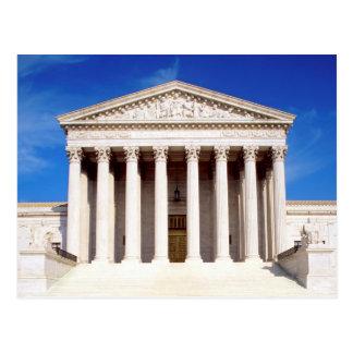 US Supreme Court building, Washington DC, USA Postcard
