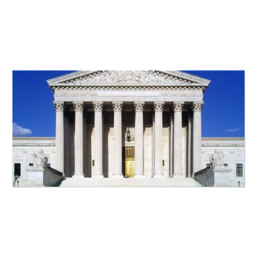 US Supreme Court Photo Card