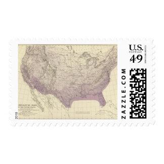 US Temperature Postage