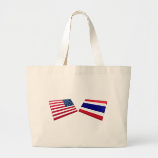US & Thailand Flags Bags