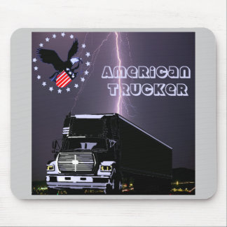 US Trucker Mouse Pad