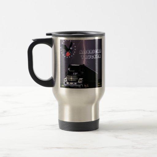 US Trucker Travel Mug