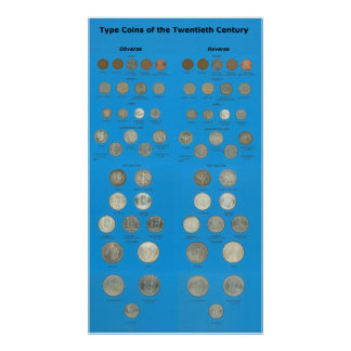 US Type Coins Print