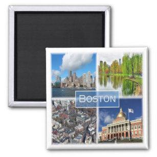 US * U S A  - Boston Massachusetts Magnet