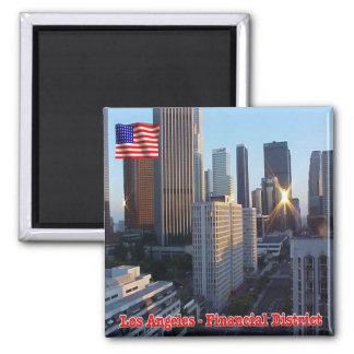US U.S.A. Los Angeles Financial District Magnet
