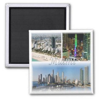 US * U.S.A. Miami - Florida Usa Magnet