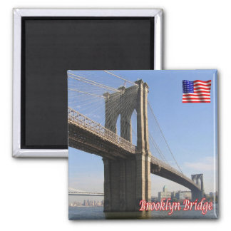 US U.S.A. - New York City - Brooklyn Bridge Magnet