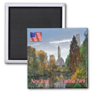 US U.S.A. - New York City - Central Park Magnet