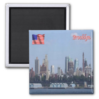 US U.S.A. - New York City - Downtown Brooklyn Magnet