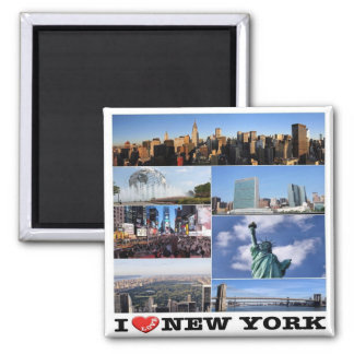 US U.S.A. - New York City - I Love Magnet