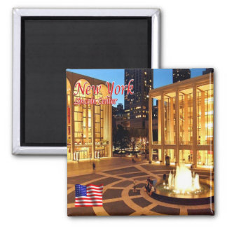 US U.S.A. - New York City - Lincoln Center Magnet