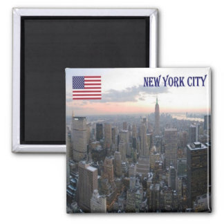 US U.S.A. - New York City - N.Y. Magnet