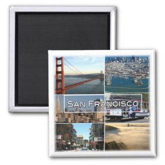 US * U.S.A. San Francisco - California Magnet