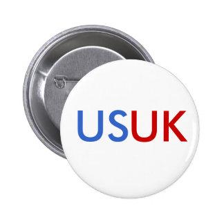 US/UK PINBACK BUTTON