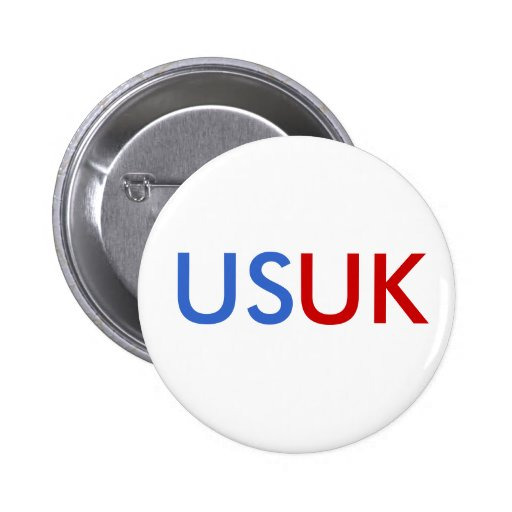 US/UK PINBACK BUTTONS