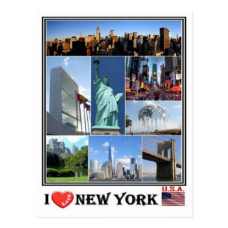 US United States of America -  New York - Postcard