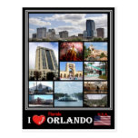 US United States of America -  Orlando Florida - Postcard