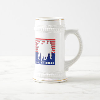 US Veteran Beer Stein