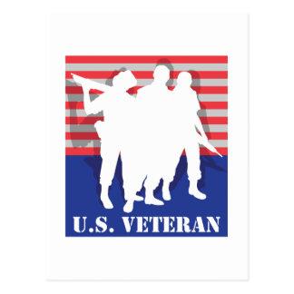 US Veteran Postcard