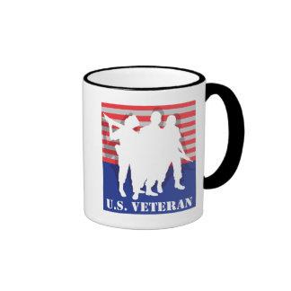US Veteran Ringer Coffee Mug
