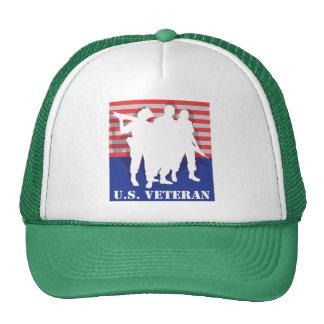 US Veteran T-Shirt Trucker Hat