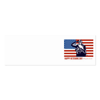 US Veterans Day Remembrance Greeting Card Business Card Templates