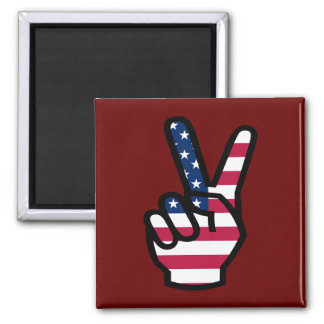 US Victory Sign Magnet