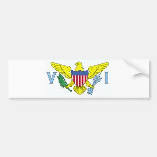 US Virgin Islands Car Bumper Sticker