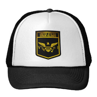 US Virgin Islands Emblem Trucker Hat