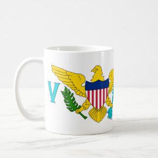 US Virgin Islands Flag Coffee Mug