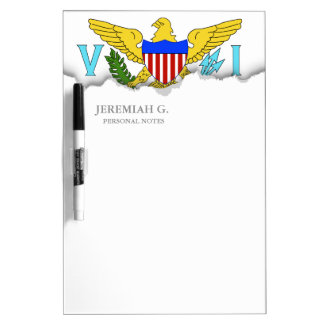 US Virgin Islands flag Dry-Erase Board