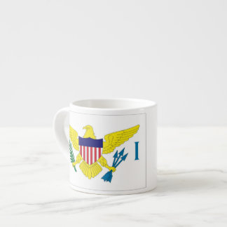 US Virgin Islands Flag Espresso Cup