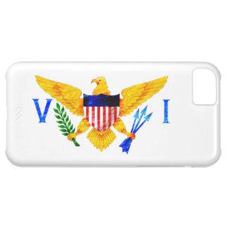 US VIRGIN ISLANDS FLAG iPhone 5C CASE