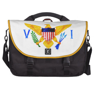 US VIRGIN ISLANDS FLAG COMPUTER BAG