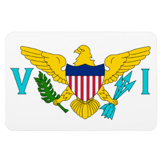 US Virgin Islands Flag Magnet