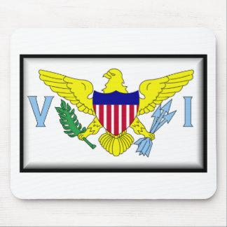 US Virgin Islands Flag Mousepad