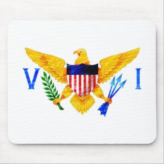 US VIRGIN ISLANDS FLAG MOUSE PADS