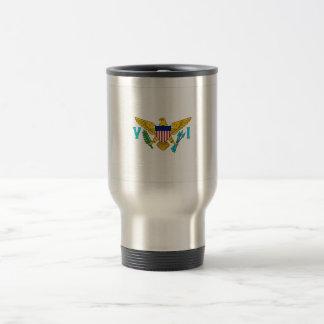 US Virgin Islands Flag 15 Oz Stainless Steel Travel Mug