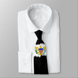 US Virgin Islands flag Neck Tie