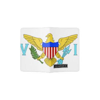 US Virgin Islands flag Passport Holder