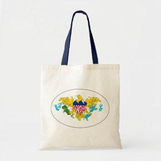 US Virgin Islands Gnarly Flag Bag